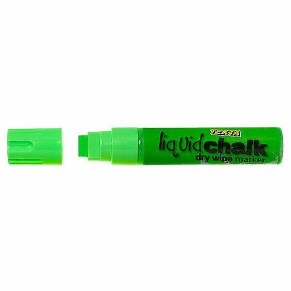 TEXTA Liquid Chalk Marker Dry Wipe Green 0388050