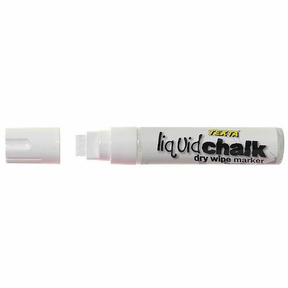 TEXTA Liquid Chalk Marker Dry Wipe White 0388060