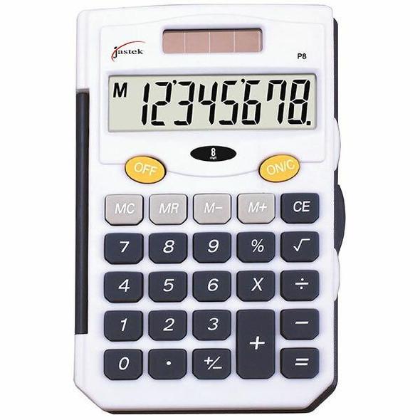 Jastek Pocket Calculator Blue X CARTON of 6 0398410