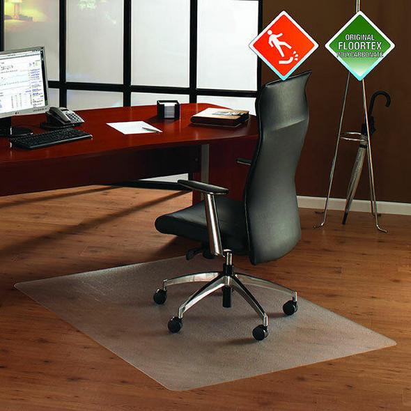 FLOORTEX Chairmat Anti-Slip Polycarbonate Hard Rectangle 90x120cm 0400030