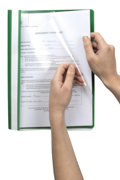 Marbig Flat Files A4 Economy Green X CARTON of 50 1001004