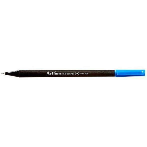 Artline Supreme Fineliner Pen 0.4mm Blue BOX12 102103