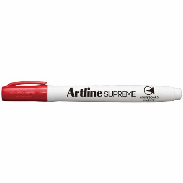 Artline Supreme Whiteboard Marker Red BOX12 105102