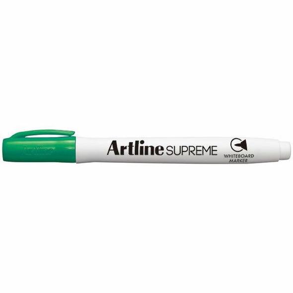 Artline Supreme Whiteboard Marker Green BOX12 105104