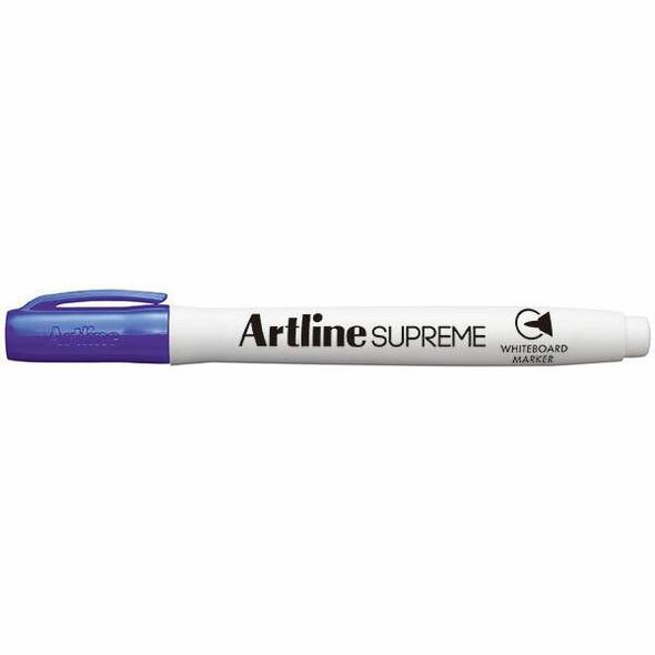 Artline Supreme Whiteboard Marker Purple BOX12 105106