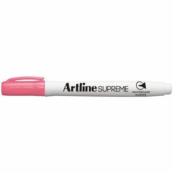 Artline Supreme Whiteboard Marker Pink BOX12 105109