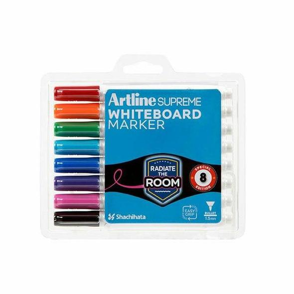 Artline Supreme Whiteboard Marker Assorted 105178