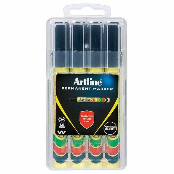 Artline 70 Permanent Marker Black X CARTON of 6 107075HC