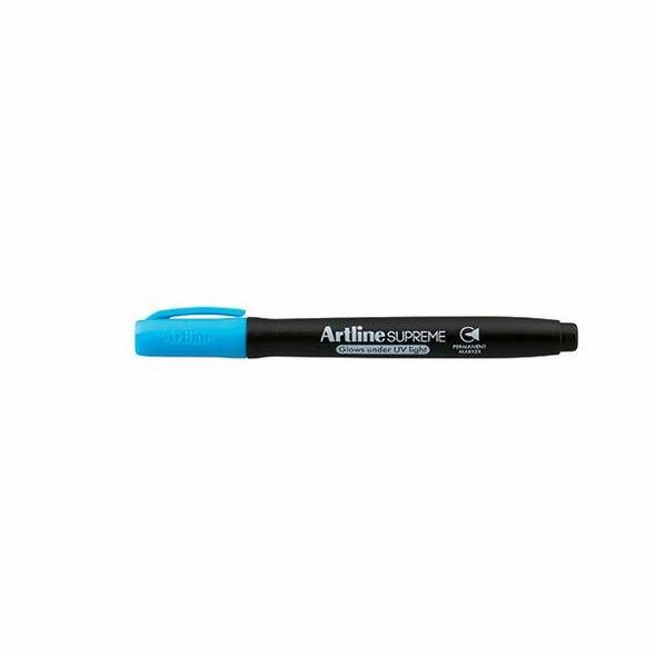 Artline Supreme Glow Marker Blue BOX12 107203