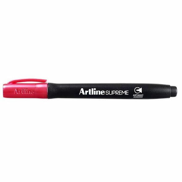 Artline Supreme Metallic Marker Pink BOX12 109909