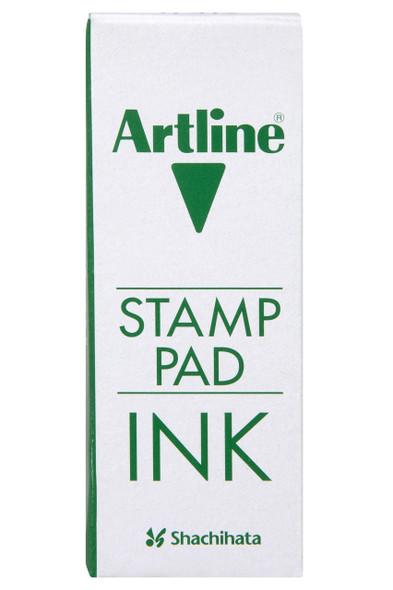 Artline Esa-2n Stamp Pad Ink 50cc Green 110504