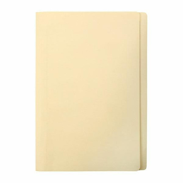Marbig Manilla Folders Foolscap Box100 Buff X CARTON of 5 1108007