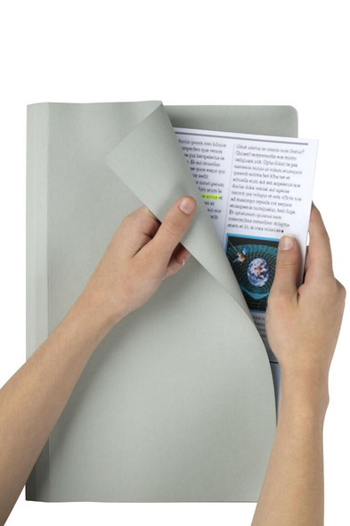 Marbig Manilla Folders Foolscap Grey Box100 1108111