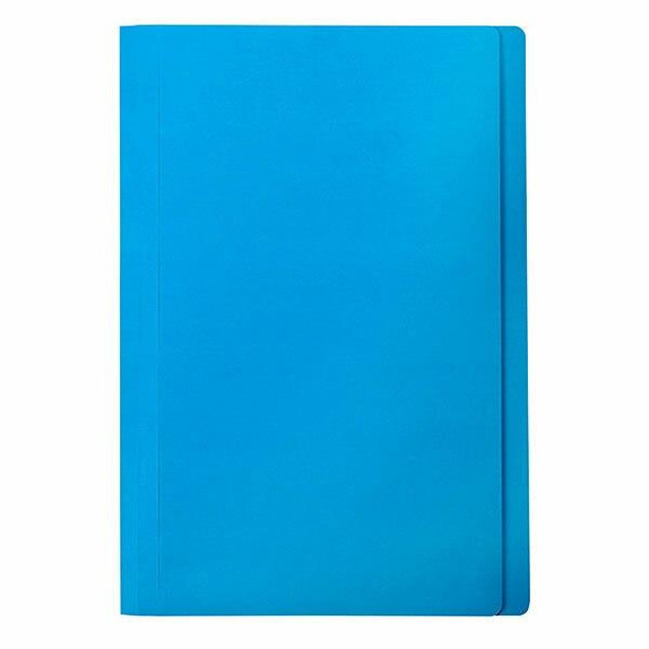 Marbig Manilla Folders Foolscap Blue Pack20 X CARTON of 5 1108601