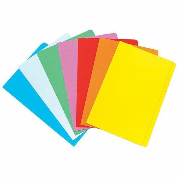Marbig Manilla Folders Foolscap Assorted Pack20 X CARTON of 5 1108699