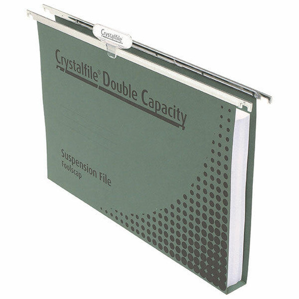 Crystalfile Complete Suspension Files Foolscap Double Cap 50 Pack 111250CY
