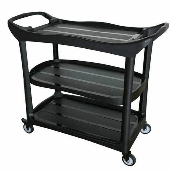 Cleanlink Utility Trolley Black 12020