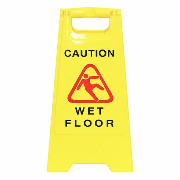 Cleanlink Safety Sign Wet Floor Yellow 12050