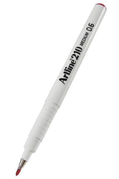 Artline 210 Fineliner Pen 0.6mm Magenta BOX12 121016