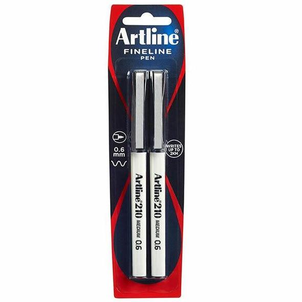 Artline 210 Fineliner Black X CARTON of 6 121065