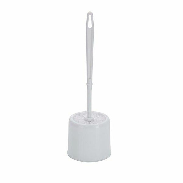 Cleanlink Toilet Brush With Pot White 12129