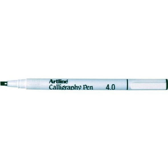 Artline 244 Calligraphy Pen 4mm Black BOX12 124401