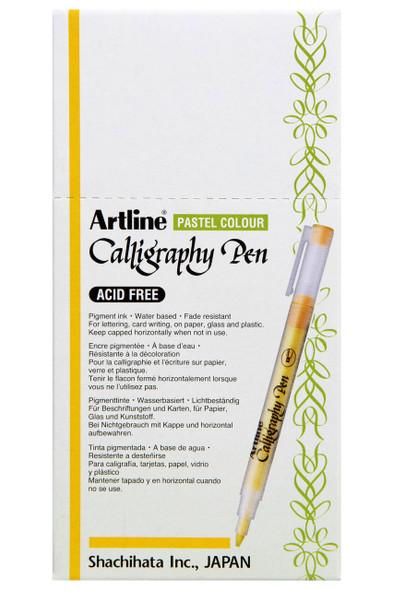 Artline Calligraphy Pen 2.0mm Pastel Purple BOX12 125306