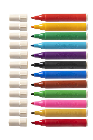 Artline 300 Liquid Crayon Colouring Marker Water Based Assorted 130041