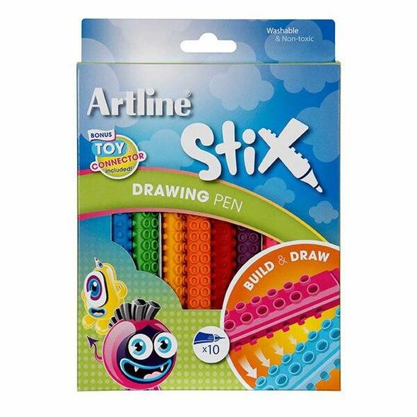 Artline Stix Drawing Pen Pack10 132072