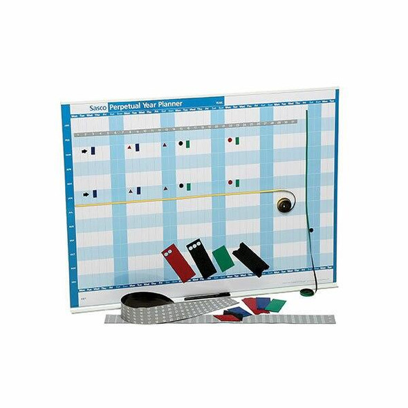 Sasco Perpetual Year Planner And Kit 855x630mm 136295