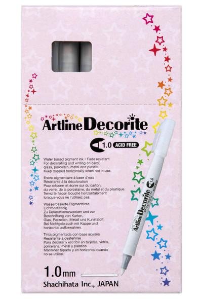 Artline Decorite Standard 1.0 Black BOX12 140701