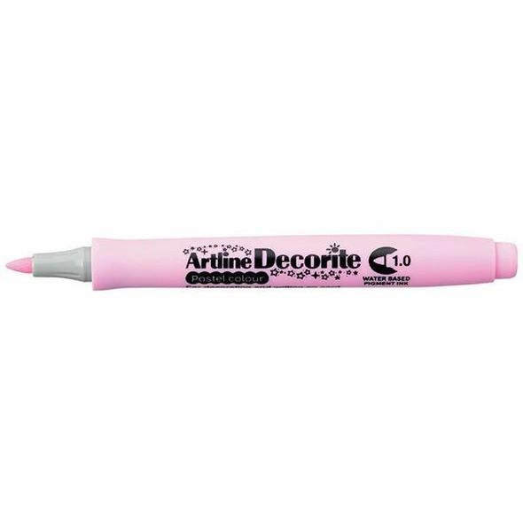 Artline Decorite Pastel 1.0 Pink BOX12 140736