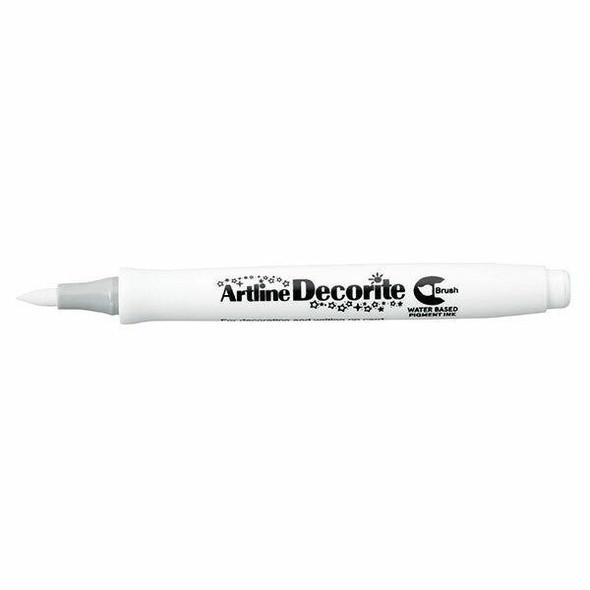 Artline Decorite Standard Brush White X CARTON of 12 140800