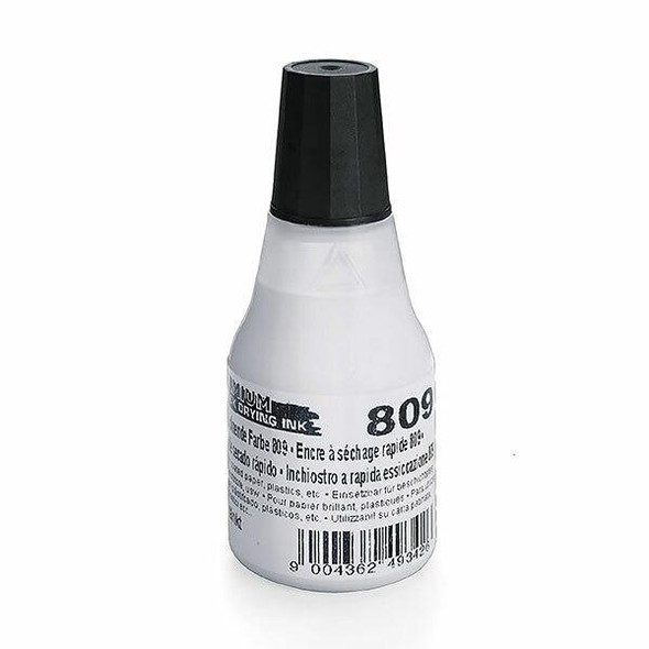 COLOP 809 Quick Drying Ink Premium 25ml White X CARTON of 10 147060