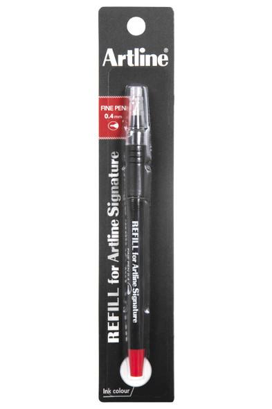 Artline Signature Fine Pen Refill Red X CARTON of 12 149002