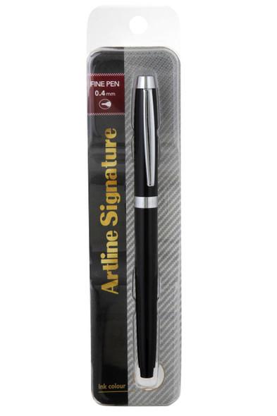 Artline Signature Fine Pen Black 149101