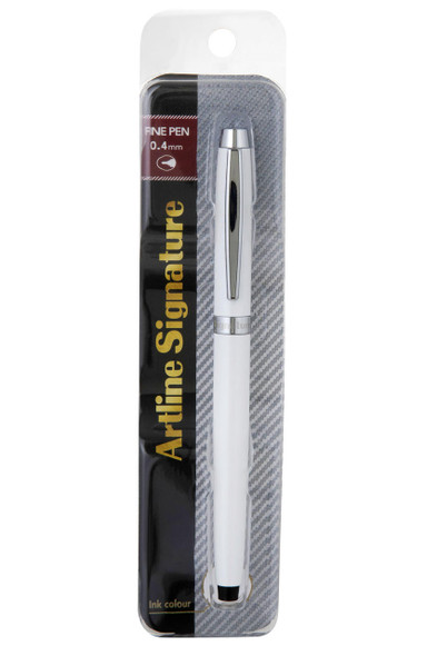 Artline Signature Pearl Fine Pen Black 149301