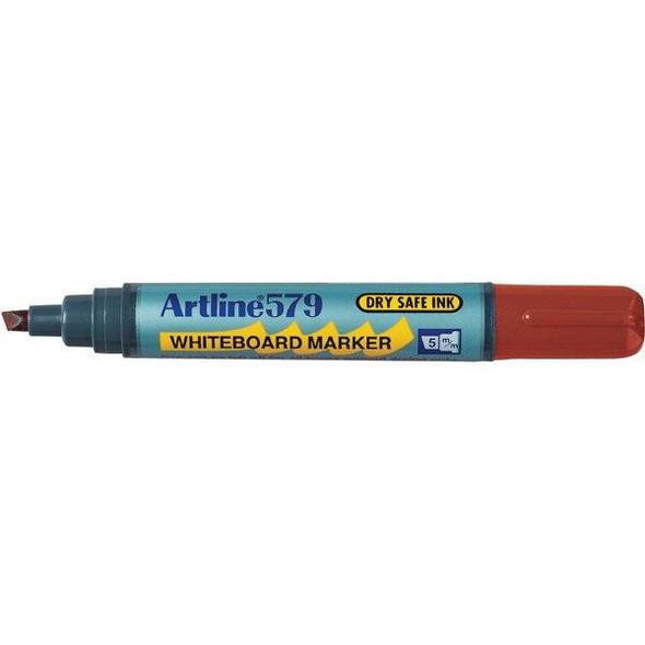Artline 579 Whiteboard Marker 5mm Chisel Nib Brown BOX12 157908