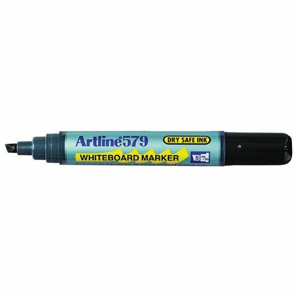 Artline 579 Whiteboard Marker Black Hangsell 157961