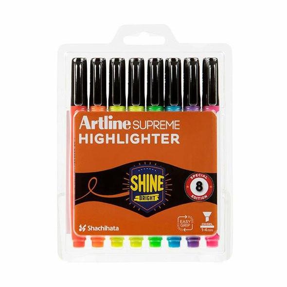 Artline Supreme Highlighter Assorted 161078