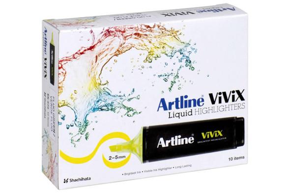 Artline Vivix Highlighter Green Pack10 BOX10 167004