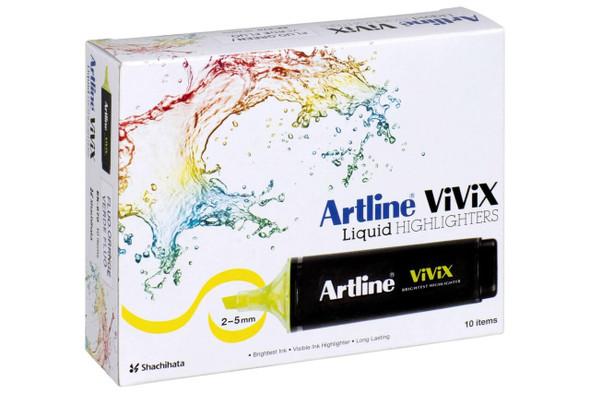 Artline Vivix Highlighter Orange Pack10 BOX10 167005