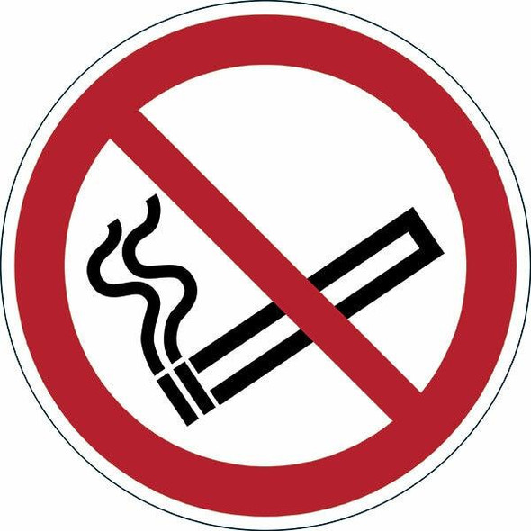 DURABLE Marking Sign Sigh Smoking Prohibited Red 172803