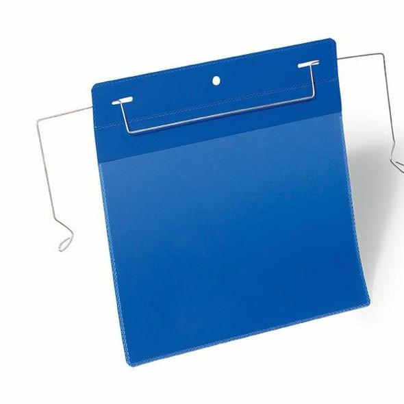 DURABLE Logistic Pockets Wire Straps A5 Landscape Pack 50 175207