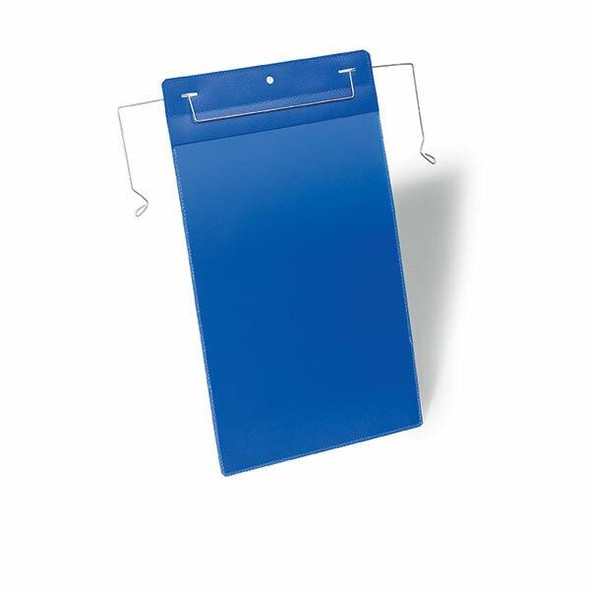DURABLE Logistic Pockets Wire Straps A4 Portrait Pack 50 175307