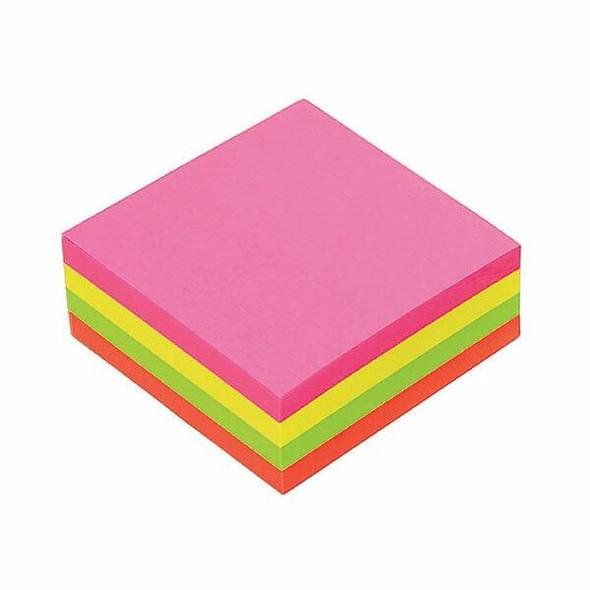Marbig Notes Brilllant Cube 75x75mm 320sht Assorted 1810799