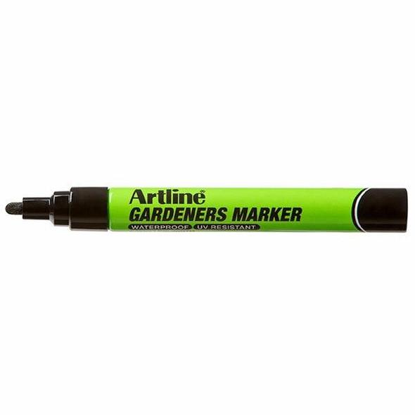 Artline Gardeners Permanent Marker Black BOX12 195701B