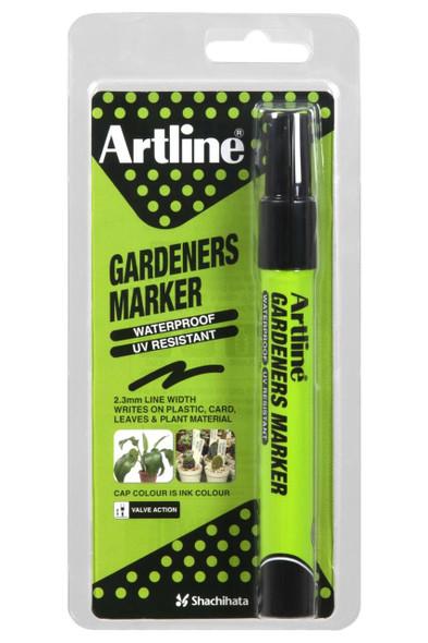 Artline Gardeners Permanent Marker Black Hangsell X CARTON of 12 195701HS