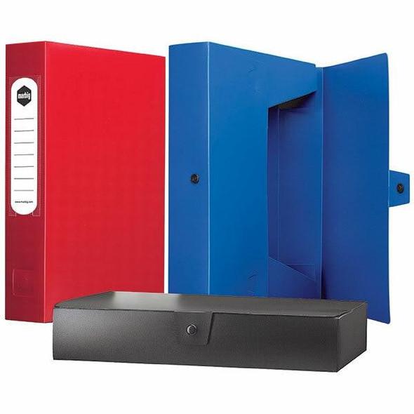 Marbig Box File A4 60mm Black X CARTON of 10 2009802