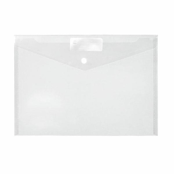 Marbig Doculope Document Wallet A4 Clear X CARTON of 10 2015000